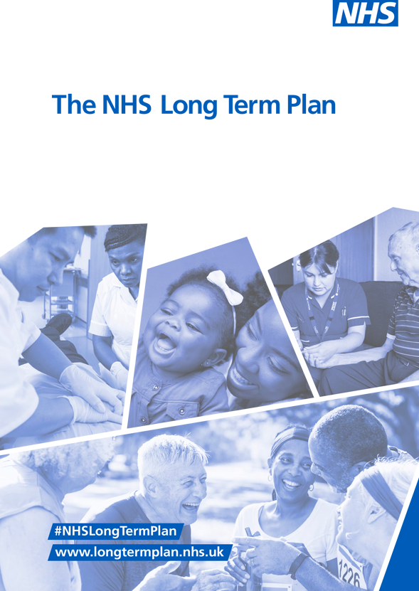 Cover of the NHS Long Term Plan