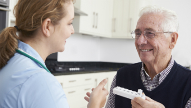 home care homecare worker medicines support