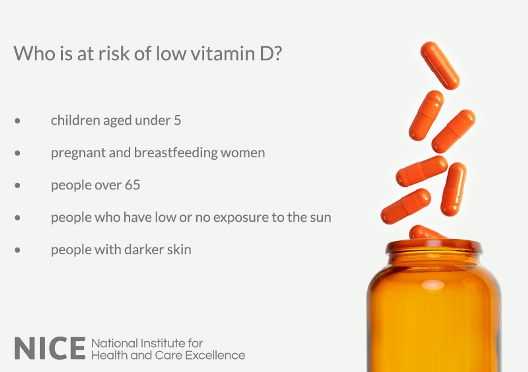 Improve Access To Supplements To Help Prevent Vitamin D Deficiency News And Features News Nice