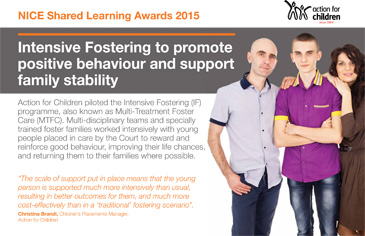 Multi-treatment Foster Care poster