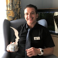 Jason Denny, care home manager of Old Hastings House